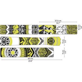 DYEDBRO Mandala Frame Protection Kit, transparente/amarillo